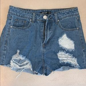 NWT Nasty Gal Jean shorts
